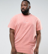 Puma Plus Towelling T-Shirt In Pink Exclusive To Asos 57533306