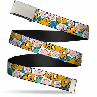 "Buckle Down Buckle-Down Men's Buckle-Down Web Belt Adventure Time 1.25"""