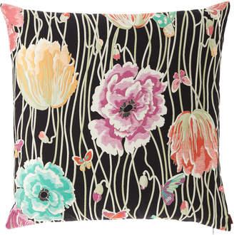 "Missoni Home Valmadera Poppies Jacquard Pillow, 24""Sq."