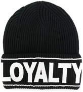 Versace Loyalty beanie hat