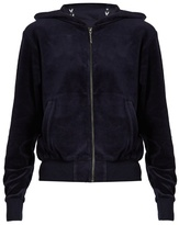 The Upside Orlando hooded velour performance top