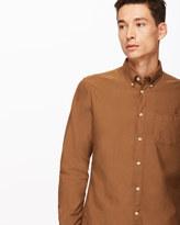 Garment Dye Bound Edge Oxford Shirt