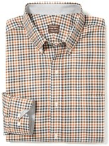 J.Mclaughlin West End Trim Fit Shirt in Tattersall Check