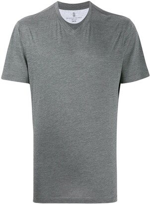Brunello Cucinelli V-neck relaxed-fit T-shirt