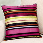 Ribbon Stripe Toss Pillow