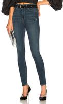 GRLFRND Kendall High Rise Super Stretch Skinny Jeans in Blue.