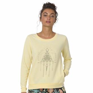Animal Womens Yellow Sweatshirt - Cruize