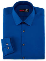 Jf J.Ferrar Jf Easy-Care Solid-Big & Tall Long Sleeve Dress Shirt