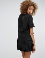 Sister Jane Shadowplay Lace Back Dress