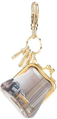 Undercover coin purse keychain
