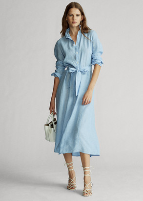 Ralph Lauren Linen Shirtdress