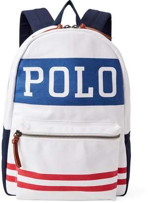 Ralph Lauren Polo Canvas Backpack
