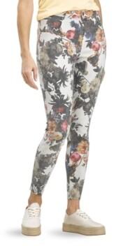 Hue Women's Floral Old Masters High Rise Denim Leggings