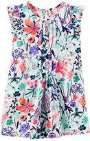 Osh Kosh Pleated Floral Dress
