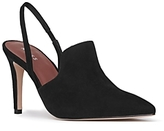 Reiss Women's Hayley Suede Slingback Pointed Toe Pumps