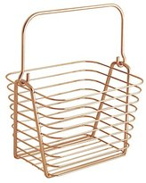 InterDesign Classico Wire Basket Storage for Kitchen/Bathroom/Closet/Bedroom, Copper