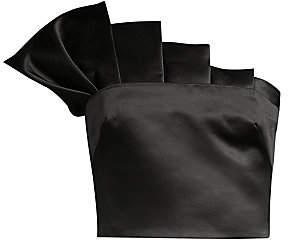 Flor et. al Women's Collins Satin Pleated Cropped Top