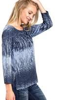 Katina Marie Chambray High-Low Top