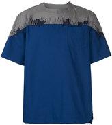 Sacai panelled T-shirt