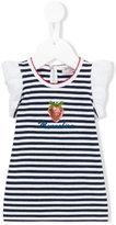 MonnaLisa striped strawberry detail top
