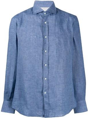 Brunello Cucinelli Chambray Tailored Shirt