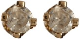 Candela 14K Yellow Gold Diamond Stud Earrings - 0.04 ctw