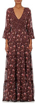 Ulla Johnson Women's Aurora Silk Georgette Maxi Dress