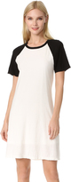 James Perse Flared Baseball Dress