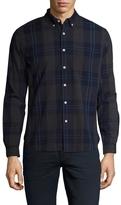 Life After Denim Men's Cotton Beacon Checkered Slim Fit Sportshirt