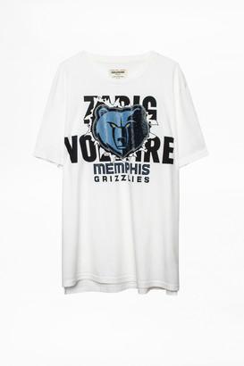 Zadig & Voltaire Tobias Memphis Grizzlies T-shirt