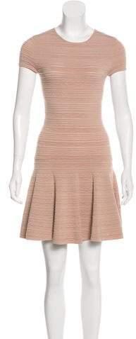 Torn By Ronny Kobo Mini A-Line Dress