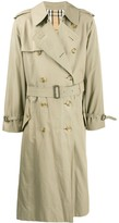 Burberry Pre Owned 1990s long trench coat