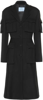 Prada Virgin wool gabardine coat