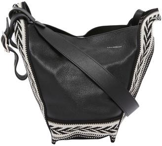Elena Ghisellini B1007 Vanity M Top Handle Shoulder Bag