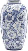 Lenox Painted Indigo Floral Tall Vase