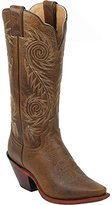 Justin Boots Women's Classic Western Boot Narrow Square Toe Shoe