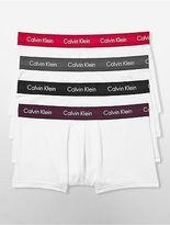 Calvin Klein Mens Cotton Stretch 4-Pack Low Rise Trunk Underwear