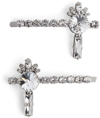 Miu Miu Crystal Queen Hair Clips
