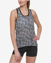 Tommy Hilfiger Printed Mesh Tank Top, Only at Macy's