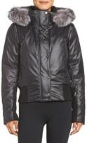 Spyder Women's Bella Waterpoof Down Jacket With Genuine Fox Fur Trim
