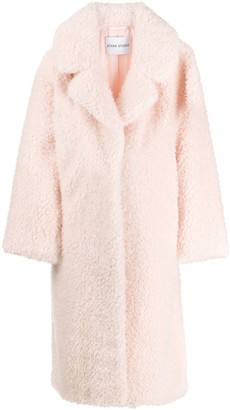 STAND STUDIO Clara faux-shearling coat