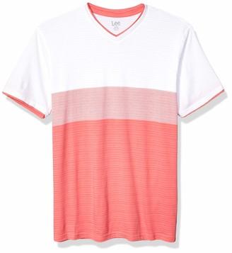 Lee Uniforms Lee Men's Short Sleeve Casual T Shirt Regular Big Tall
