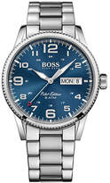 Boss Analog Pilot Midnight Monochrome Watch