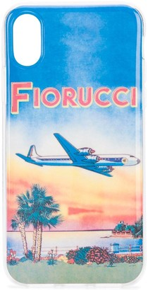 Fiorucci Sunset print iPhone X/XS case