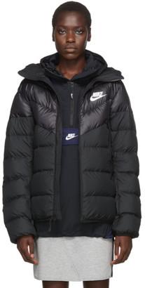 Nike Black Down Windrunner Jacket