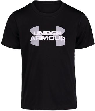 Under Armour Boys' Pre-School UA Velocity Logo Short Sleeve