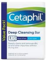 Cetaphil 3-pk. Antibacterial Gentle Cleansing Bars 4.5-oz.