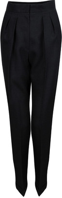 Roksanda Ilincic Dark Grey Wool Trousers M