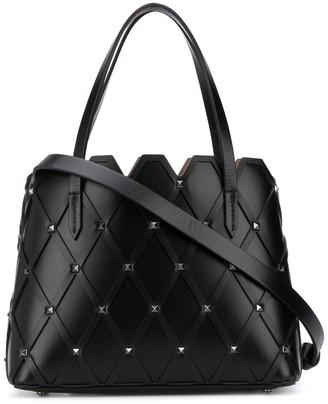 Valentino Rockstud-embellished tote bag