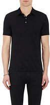 John Varvatos Men's Jersey Polo Shirt-BLACK